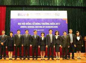 "Vietnam""s top listed bank BIDV looking for steady profit in 2017"